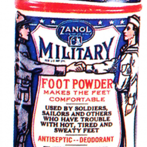 Zanol Military Foot Powder Tin