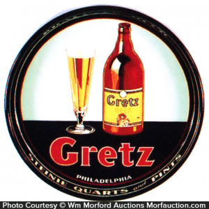 Gretz Beer Tray