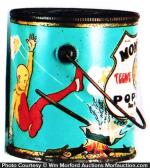 Monarch Teenie Weenie Pop Corn Pail