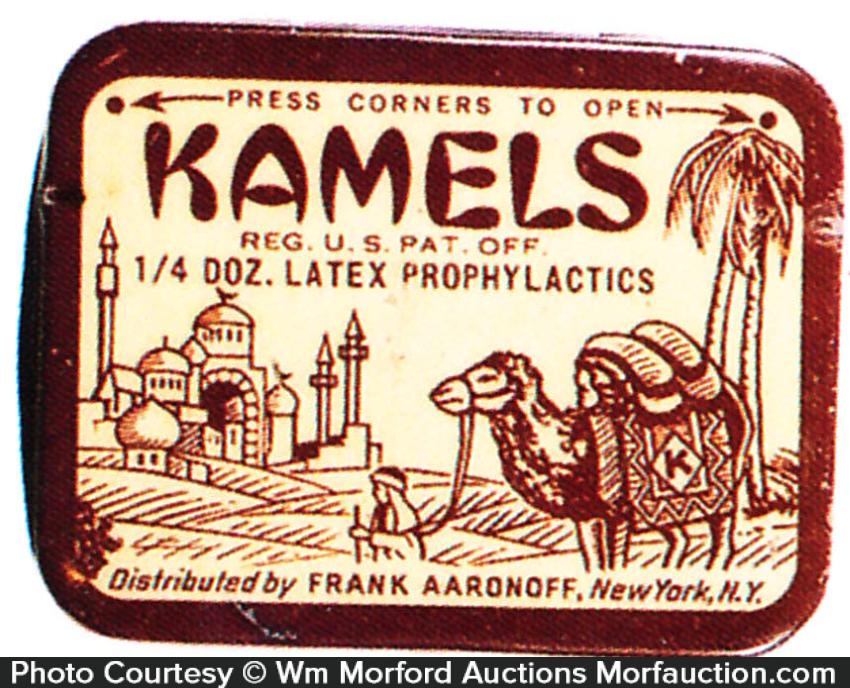 Kamels Prophylactic Tin