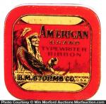 American Typewriter Tin