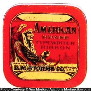 American Typewriter Tin