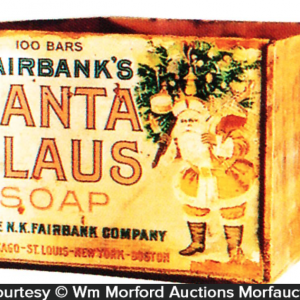 Santa Claus Soap Box