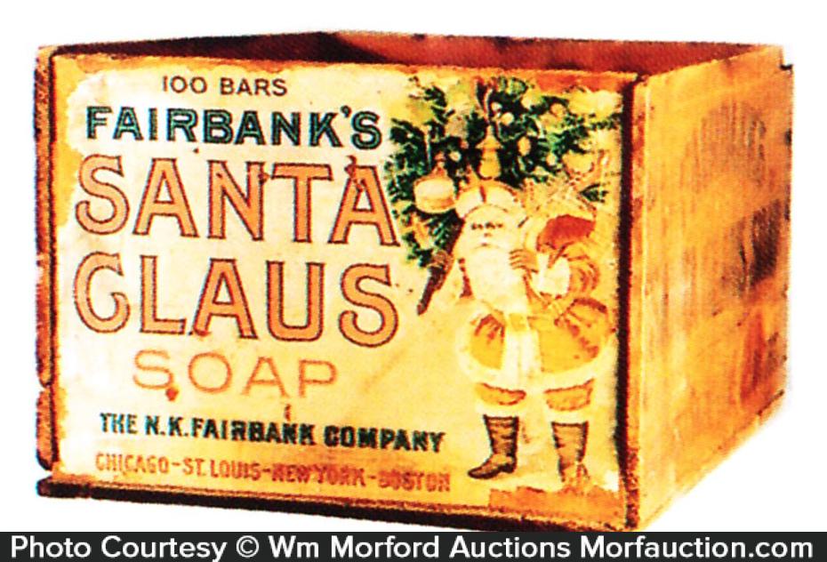 Santa Claus Soap Box