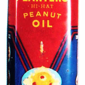 Planters Hi-Hat Oil Tin