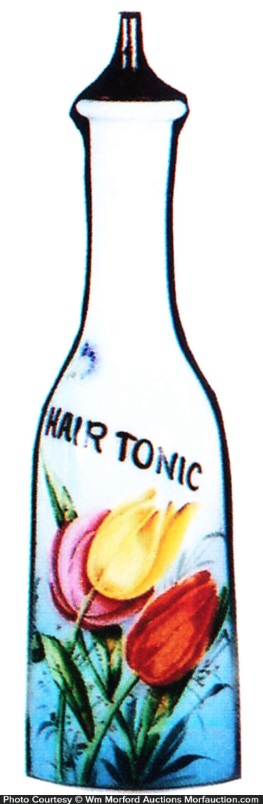 Barber Hair Tonic Bottle