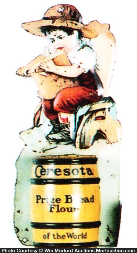 Ceresota Prize Bread Match Holder