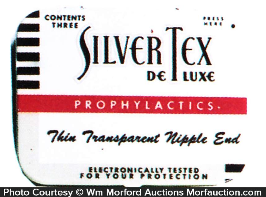 Silver Tex De Lux Tin