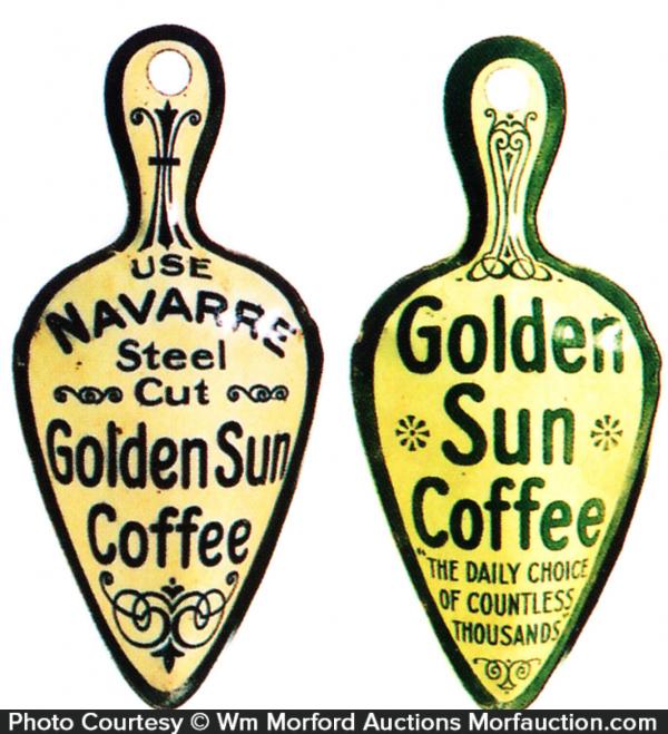 Golden Sun Coffee Miniature Scoops