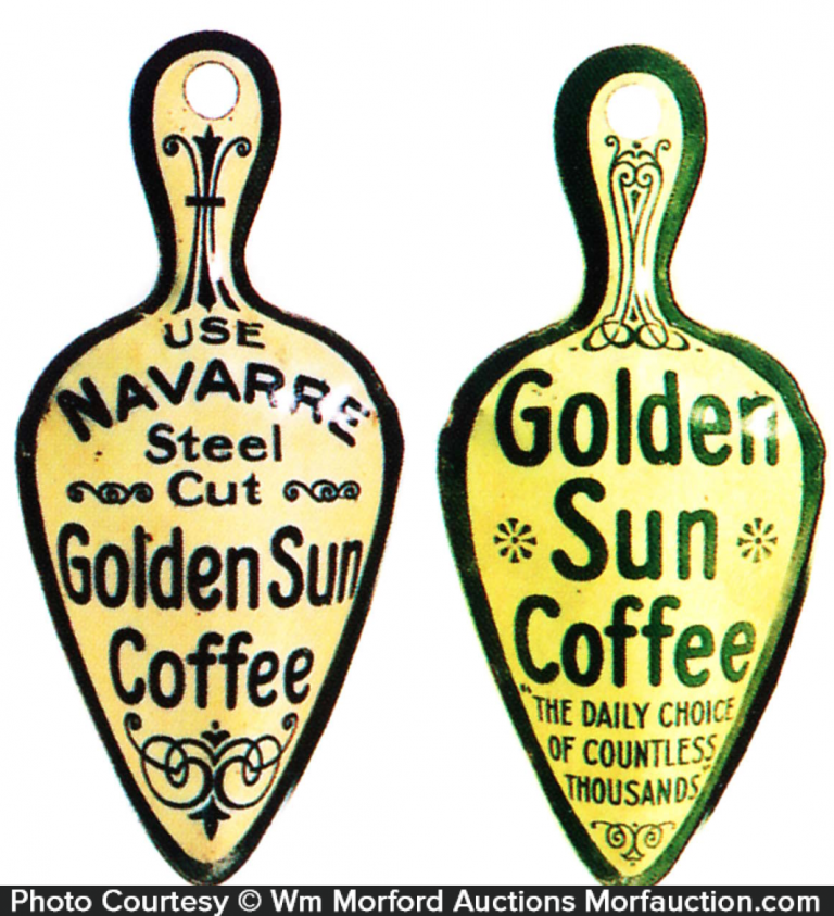 Golden Sun Coffee Miniature Scoops