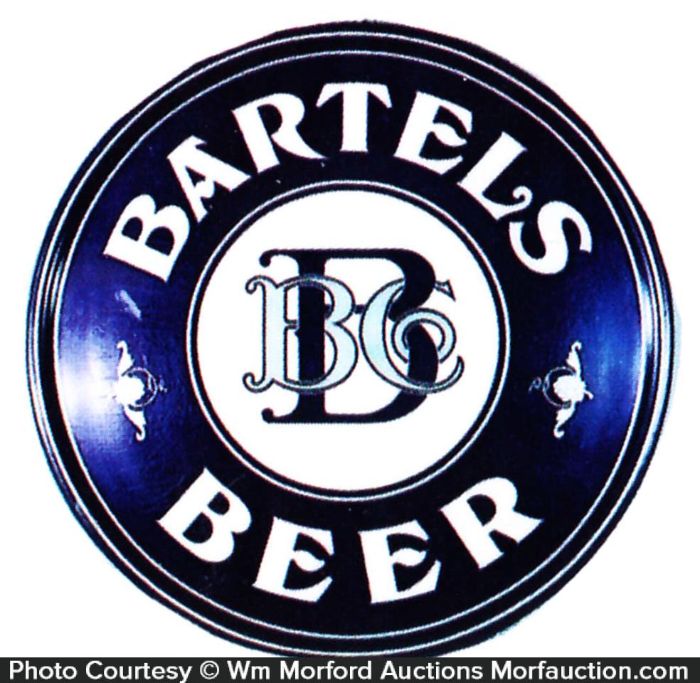 Bartels Beer Sign
