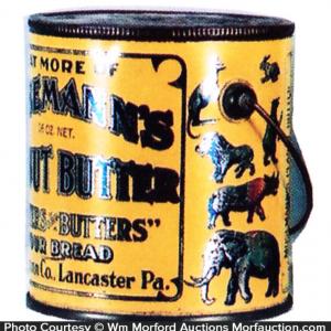 Mosemann's Peanut Butter Pail