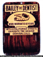 Bailey Dentist Match Holder