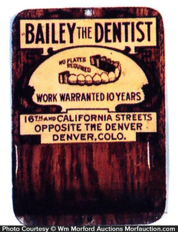 Bailey Dentist Match Holder