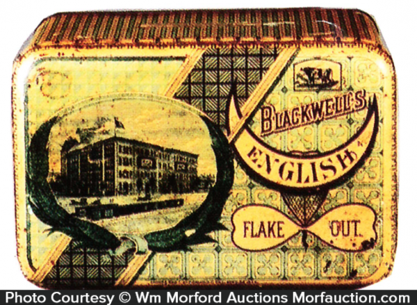 Blackwell's English Tobacco Tin
