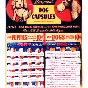 Raymon's Dog Capsules Display