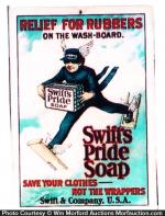 Swift's Pride Soap Sign