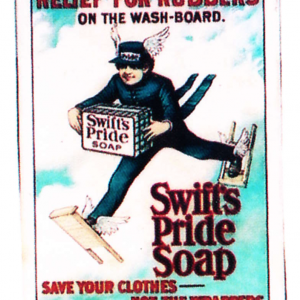 Swift's Pride Soap Sign