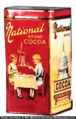 National Cocoa Tin