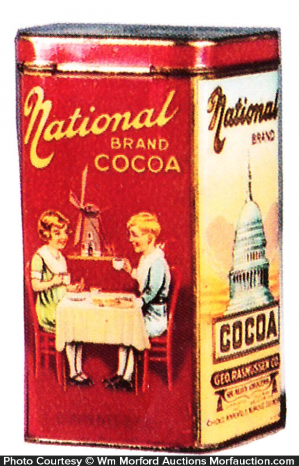 National Cocoa Tin
