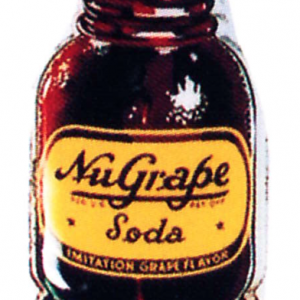 Nugrape Soda Sign