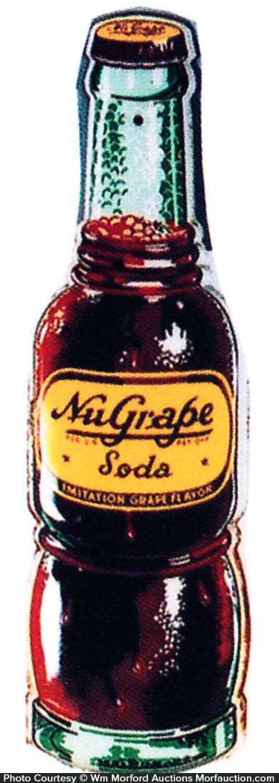 Nugrape Soda Sign