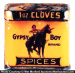Gypsy Boy Spice Tin