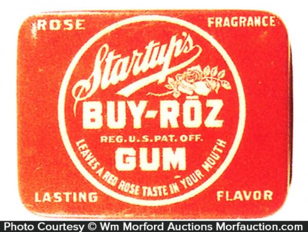 Startup's Buy-Roz Gum Tin