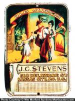 Stevens Old Judson Match Holder