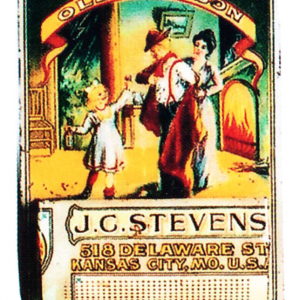 Stevens Old Judson Match Holder