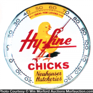 Hy-Line Chick Hatcheries Thermometer