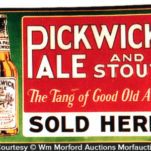 Pickwick Pale Sign