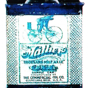 Mather Axle Oil Sample Tin