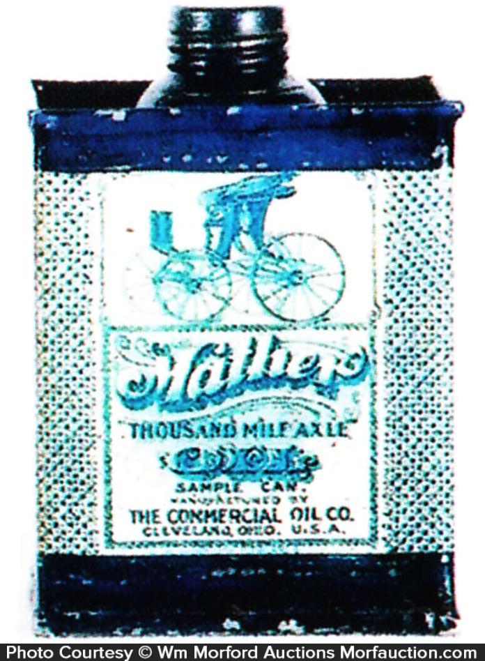 Mather Axle Oil Sample Tin
