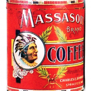 Massasoit Coffee Can