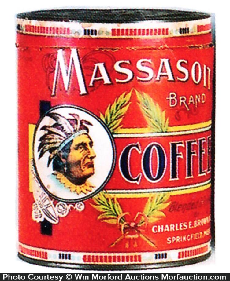 Massasoit Coffee Can