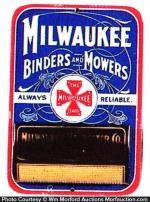 Milwaukee Binders and Mowers Match Holder
