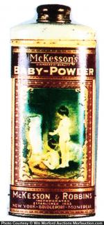 Mckesson's Baby-Powder Tin