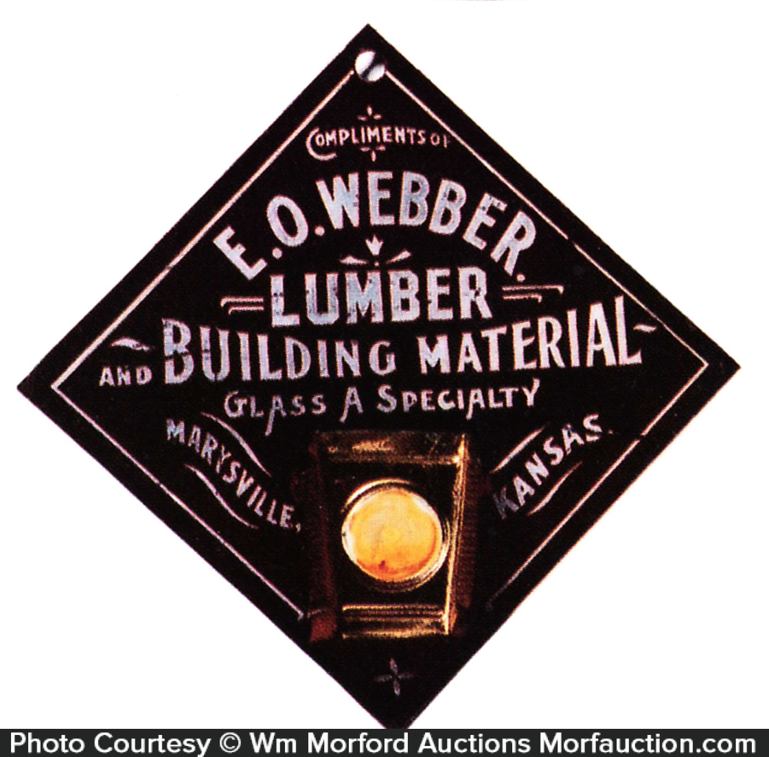 Webber Lumber Match Holder