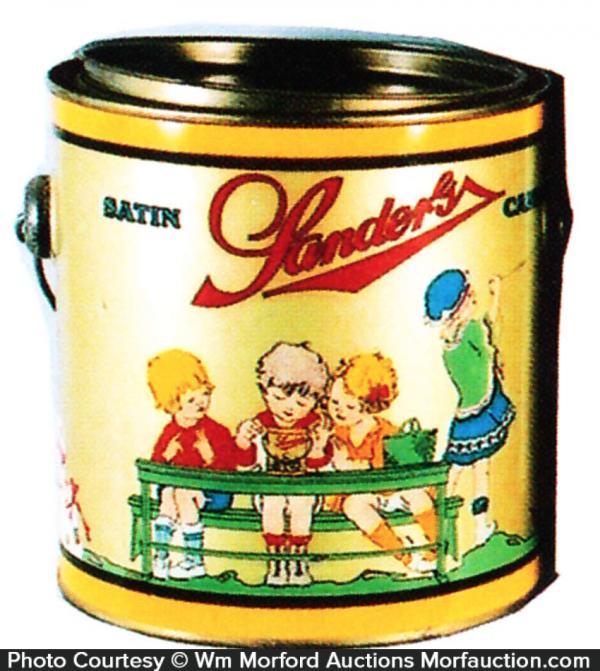 Sander's Satin Candy Pail