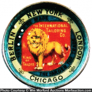 International Tailoring Mirror Puzzle Game