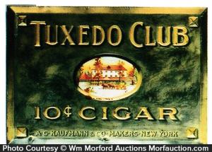 Tuxedo Club Cigar Sign