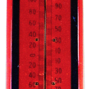 Uss American Fence Posts Thermometer
