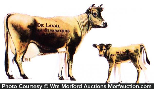 De Laval Advertising Cows