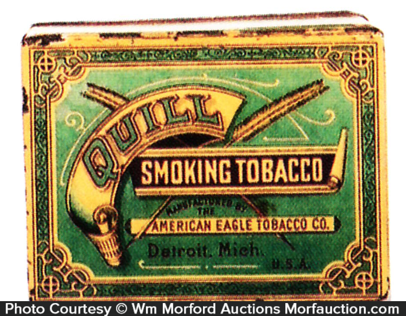 Quilt Tobacco Tin