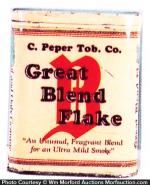 Great Blend Flake Tobacco Tin