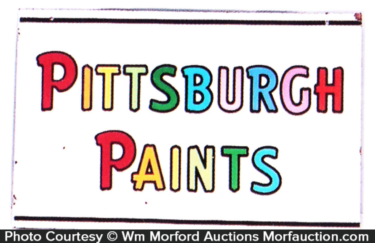 Pittsburgh Paints Sign