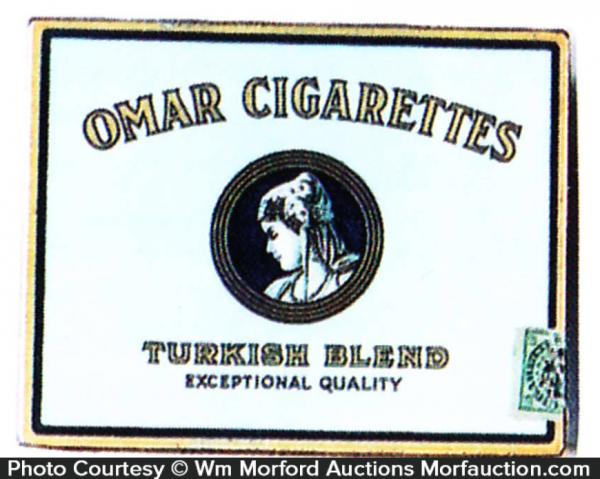 Omar Cigarettes Tin