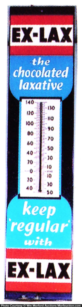 Ex-Lax Thermometer