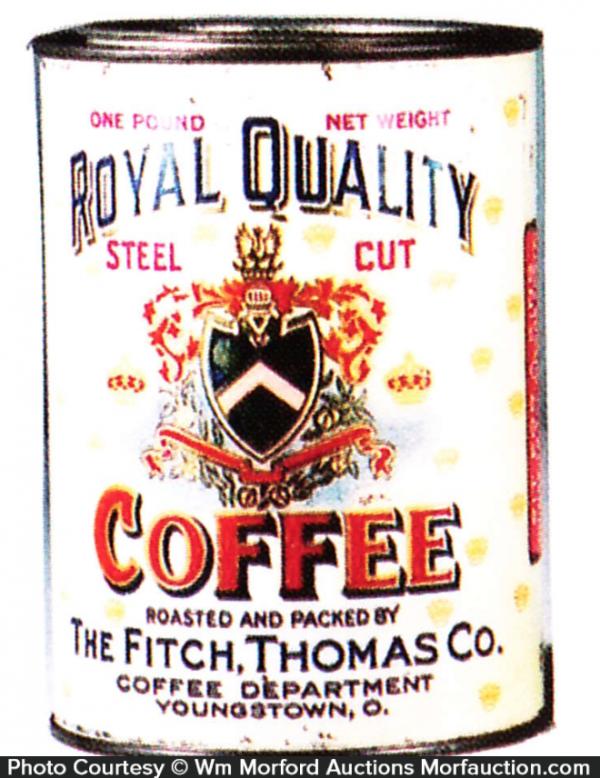 Royal Quality Coffee Tin